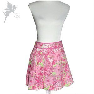 LILLY PULITZER Pink Panther pleated skirt